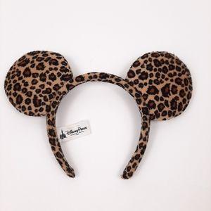 DISNEY Parks Cheetah Mickey Mouse Ears Headband